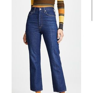 Agolde Pinch waist hi rise kick jeans in Radio